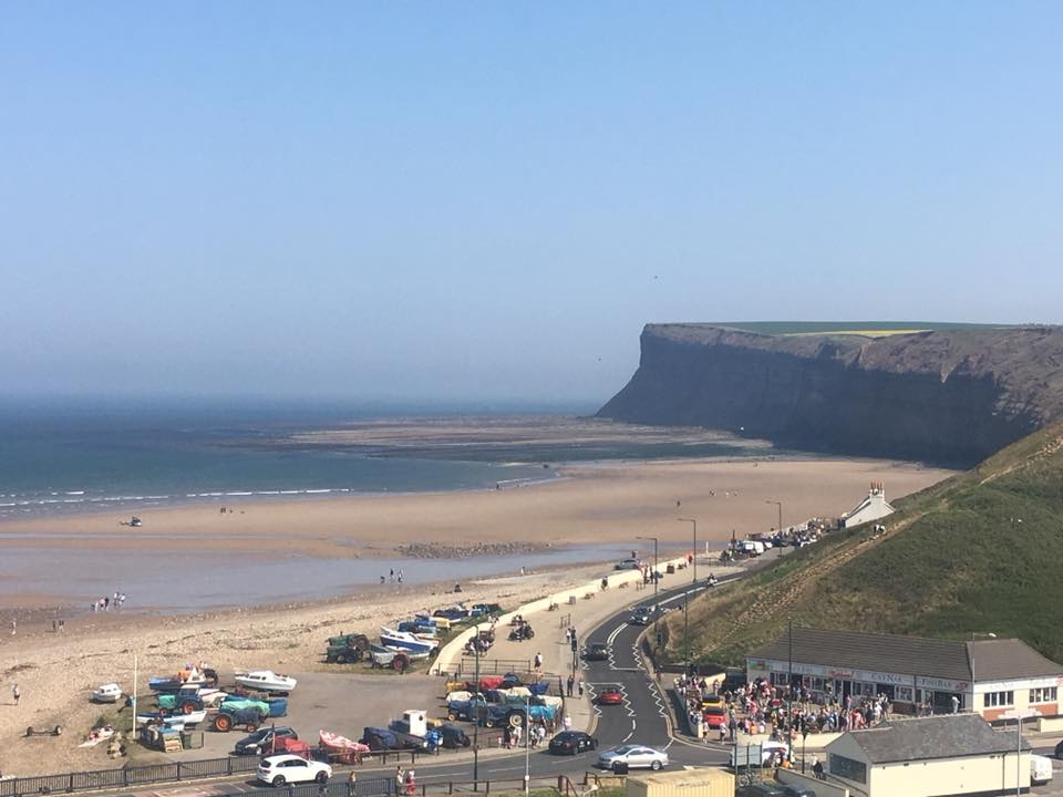 Saltburn was packed over the weekend
