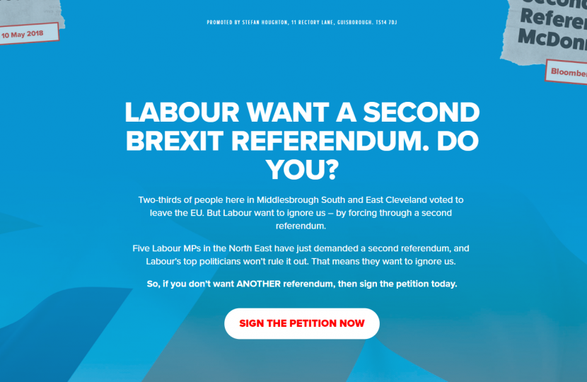no 2nd referendum