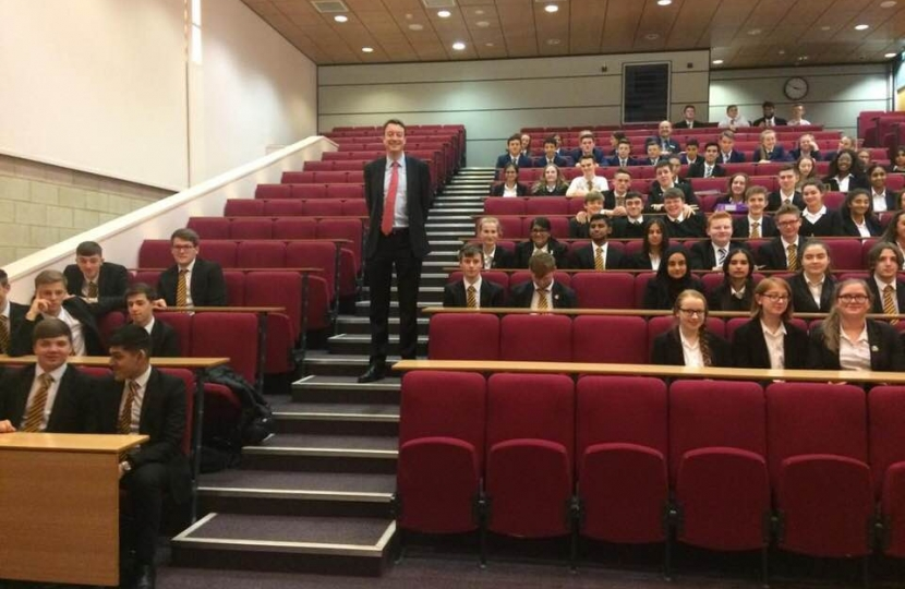 Meeting King's Academy Politics Students