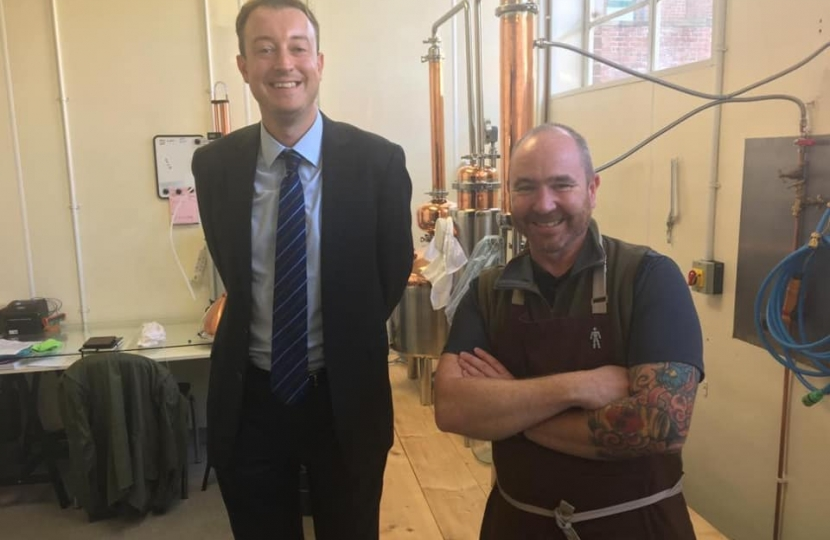 Meeting Steve at the Daisy Distillery