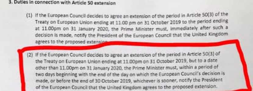 The text of Labour's surrender bill
