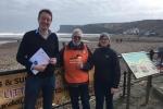 Joining local efforts to protect Saltburn beach