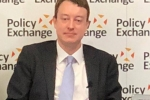 Simon speaking at Policy exchange launch