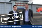 Teesside Airport - Deal Done