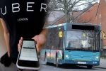 Uber style bus services