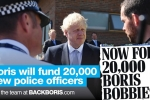 Boris backs more police officers